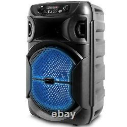 Nouveau Haut-parleur Bluetooth À Led Portable Pro Technique 1000 W Avecusb, Vendu As 3