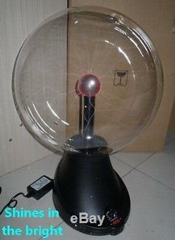 Nouveau Haut-parleur Bluetooth De Lumière De Lampe De Boule De Plasma De 16 Tesla Pour La Barre De Fête De Vacances