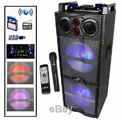 Nouveau Haut-parleur Portable Befree Sound Double 10 Pouces Subwoofer Bluetooth Avec