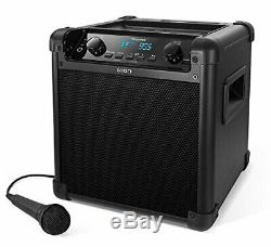 Nouveau Ion Bloc Bascule Max Haut-parleur Bluetooth Karaoke Party Haut-parleur Avec MIC