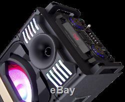 Nouveau Porte Britelite 1000 Mkii Bluetooth Led Portable Speaker Party System