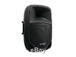 Omnitronic 15i Bluetooth Active Speaker Mp3 Usb Sd Dj Pa Disco Party Karaoke