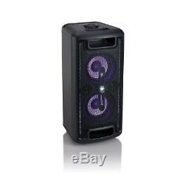 Onn. Grand Parti Président Led Onn Docks Audio Sans Fil Bluetooth Lumières