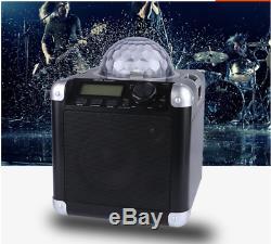 Parti Avec Haut-parleur Bluetooth Radio Disco Lights Karaoke Télécommande