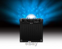 Partie De Bloc Audio Lumières Tournantes De Partie De Système De Haut-parleur Bluetooth Portatif De Live