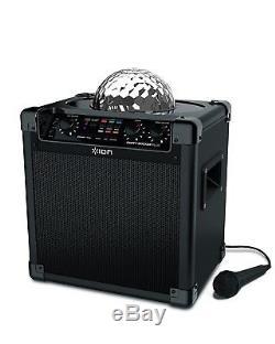 Partie De Bloc Audio Lumières Tournantes De Partie De Système De Haut-parleurs Bluetooth Portatif