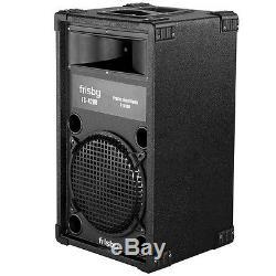 Partie Du Système De Haut-parleurs Amplifiés Frisby Avec Télécommande Radio Fm Bluetooth Usb Sd