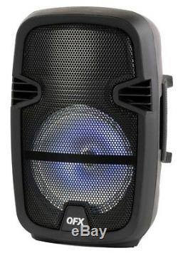 Party Bluetooth Party Haut-parleur Portable Musique Microphone Haut-parleur À Distance 8