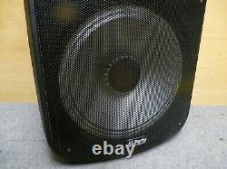 Party Light & Sound 215led-mkii 1000w Haut-parleur Bluetooth Portable Withlights Nouveau
