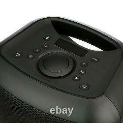 Party Speaker Medium With Led Lighting Consumer Electronics Portable Audio Docks