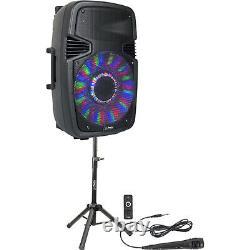 Pls Party-15 Pack 800w Haut-parleur Son Système Bluetooth Remote MIC Dj Party Disco