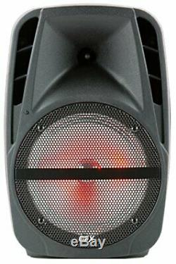 Portable Haut-parleur Loud Party Bluetooth 7500w 15 Pouces Microphone Sans Fil Et St