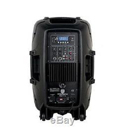 Proreck Active Portable 12 Pouces 1000w 2 Voies Enceinte De Sonorisation Powered