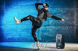 Ps-929 De Sharp 180w Haute Puissance Parti Haut-parleur Portable Bluetooth + Microphone Léger