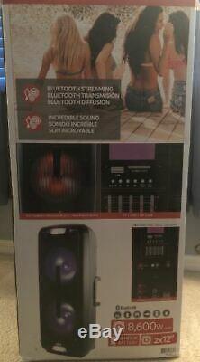 Qfx 2 X 12 Portable Party Speaker, # Pbx-112 Navires Gratuit