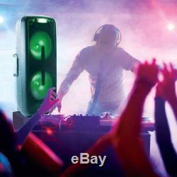 Qfx Double 12 Portable Party Pa Président Party Lights Bluetooth Entrée Usb Fm + MIC