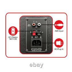 Qfx Pbx-1212 Dual 12 Haut-parleur Bluetooth Rechargeable