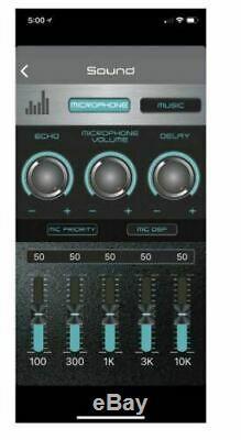 Qfx Pbx-bf25 15 Haut-parleur De Parti Rechargeable + Contrôle De L'app + Bluetooth + Usb / Sd / Fm