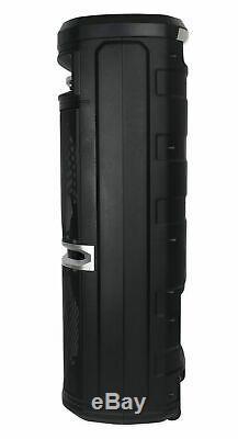 Rockville Go Party X10 Dual 10 Alimenté Par Batterie Haut-parleur Bluetooth + Uhf Microphone