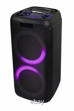 Rockville Rock Party 8 Double 8 Alimenté Par Batterie Accueil / Haut-parleur Portable Bluetooth