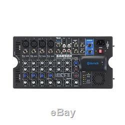 Samson Xp800 Portable 800w Événement Du Club Dj Party De Bureau Enceinte De Sonorisation Mixer
