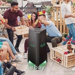 Samsung 1500w Giga Party Audio Megasound Haut-parleur, Construit À Woofer, Mx-t70xu