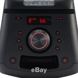 Sans Fil Bluetooth 160 Watts Party Audio Haut-parleur Portable Avec Effets D'éclairage Led