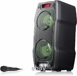 Sharp Ps-929 180w Haut-parleur De Partie Portable Haute Puissance Bluetooth + Microphone
