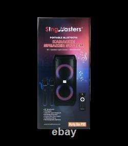 Singmasters Party Box P30 Party Bluetooth Portable Sans Fil Et Haut-parleur Karaoke
