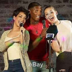 Singsation Interprète Tout En Un Sans Fil Deluxe Party Karaoké Système Avec 2 MIC