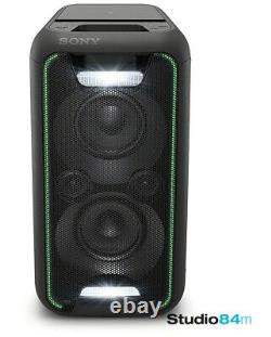 Sony Gtk-xb5 Bluetooth Compact High Power Party Speaker Music System Avec Lumières