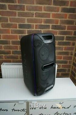 Sony Gtk-xb72 Party Bluetooth Megasound Président Noir