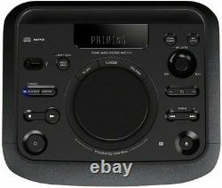 Sony Hi Fi Party Speaker Deep Mega Bass 470w Portable Tower Bluetooth Lights