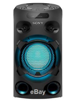 Sony Mhc-v02 Haut-parleur De Fête Sans Fil Bluetooth Radio CD Fm Bluetooth Usb En