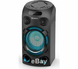 Sony Mhc-v02 Sans Fil Megasound Party Président Lecteur CD Noir Bluetooth Usb
