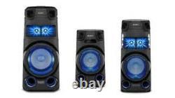 Sony Mhc-v73d Haute Puissance Bluetooth Party Haut-parleur 360 Bass Sound