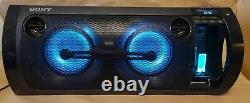 Sony Rdh-gtk37ip Portable Party System Huge Bluetooth Nfc Ipod Iphone Speaker