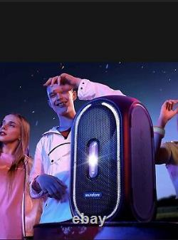 Soundcore Rave+ Portable Bluetooth Party Speaker 103db Bass Sound Led! Royaume