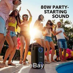 Soundcore Trance Party Bluetooth Speaker 18h Playtime Bassup Tech 80w Son Ipx7