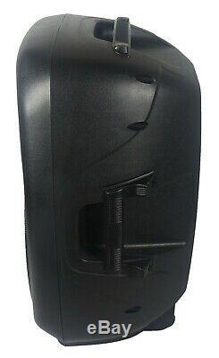 Staraudio 2500w Pa 15 Haut-parleur Actif Dj Actif Rgb Light Speaker