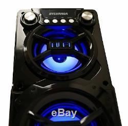 Système Bluetooth Haut-parleur Portable Stéréo Pour Extérieur Partie Avec Usb