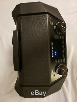 Système D'enceintes Sans Fil Bluetooth Party Boom De Ion Audio, 100 Watts À Changement De Couleur