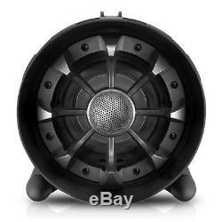 Système D'enceintes Stéréo Boombox Bluetooth + Nfc Avec Lampes De Soirée À Led Multicolores