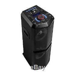 Système De Mixage Monster Remix Dj Avec Enceinte Portable Bluetooth