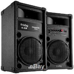 Système De Réception Frisby Fs-4200 Bluetooth Avec Système De Haut-parleurs Amplifiés Avec Télécommande Usb Sd