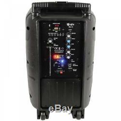 Système De Son Batterie / Secteur 10 Haut-parleurs Usb Bluetooth Karaoké Dj Inc Radio MIC