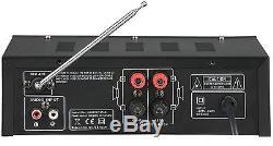 Système De Son Karaoké Ltc Star4-mkii Party Dj Comprenant 2 X MIC Bluetooth Usb