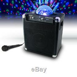Système De Son Portable Bluetooth Ion Audio Party Rocker Avec Microphone Intégré