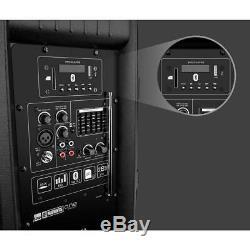 Système De Surtension Dj 15 In. Bt Party Speaker Set Batterie Rechargeable Micro Sans Fil