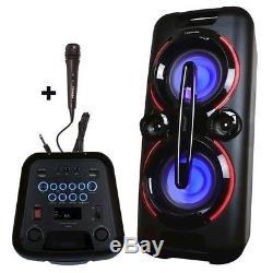 Toshibaty-asc60 Haut-parleur De Fête Sans Fil Bluetooth Avec Streaming Audio